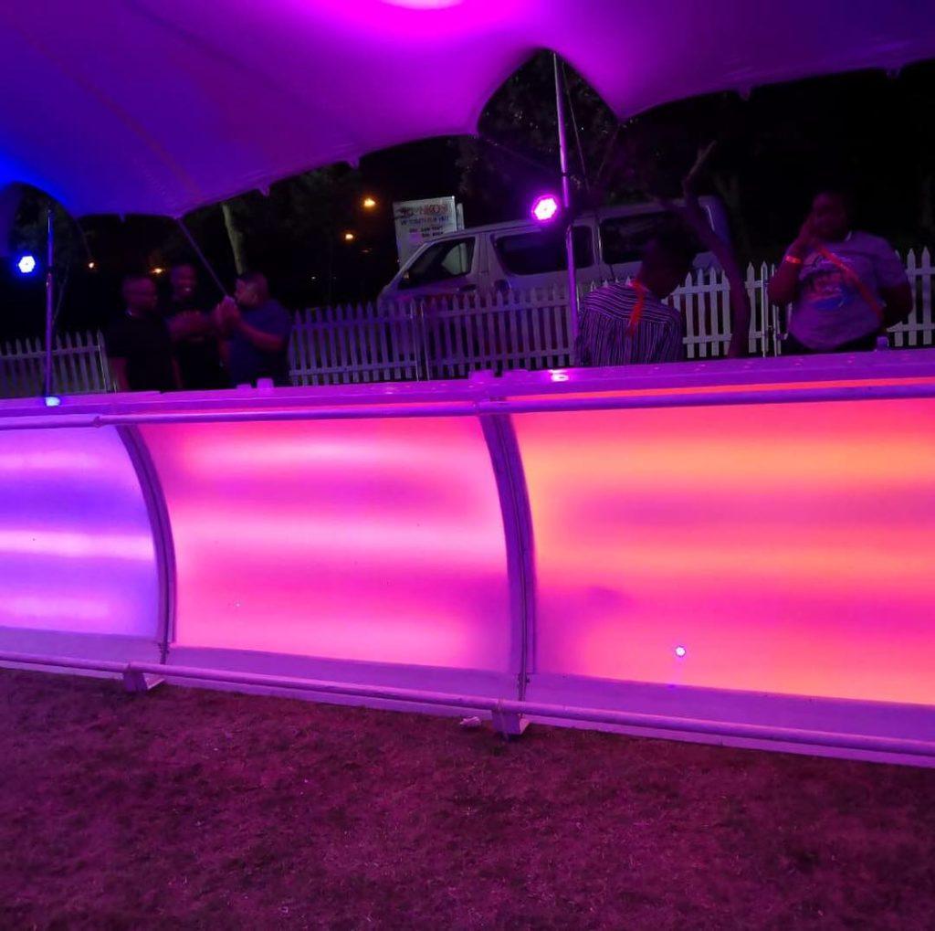 C-Suit Bars for a music festival event